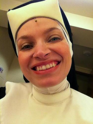 Happy Nun.