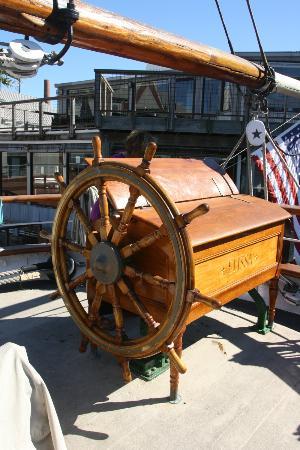 Captain's Wheel.