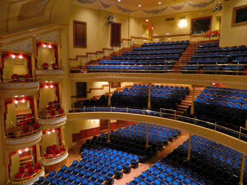 The Beautiful Grand Opera House in Galveston, TX.