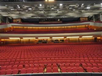 Miller Auditorium in Kalamazoo, MI.